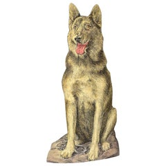 Fornasetti 'Alsatian Dog' Umbrella Stand