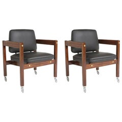Pair of Kiko Jacaranda Armchair
