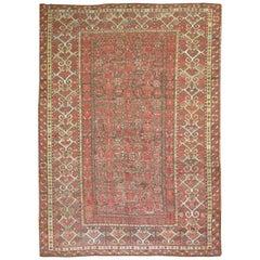 Antique Tribal Beshir Carpet
