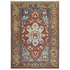Antique Northwest Persian Serapi Rug