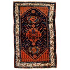 Mid-20th Century Antique Persian Hamadan Rug