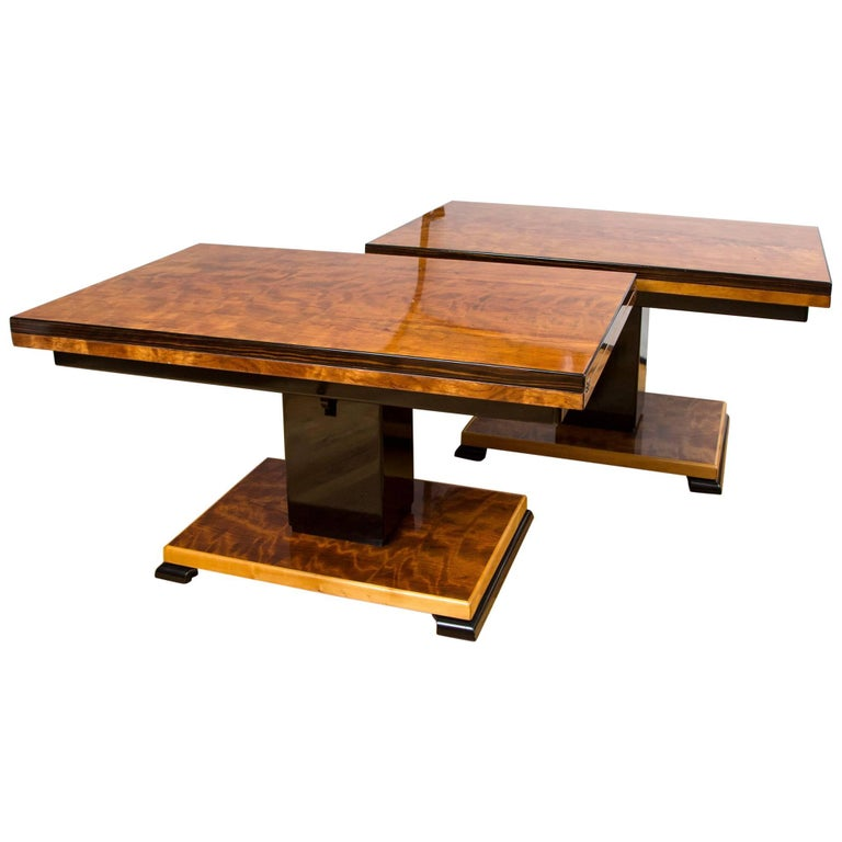 "Pair of Otto Wretling ""Idealbordet"" Adjustable Tables For Sale"