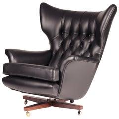 Italian Mid Century Swivel Chair By Cesare Casati And Enzo