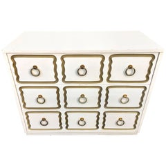 Dorothy Draper Espana Style Hollywood Regency Chest