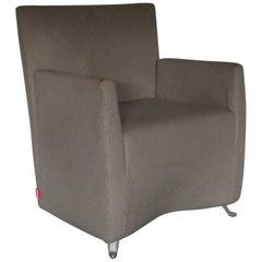 "Cerruti Baleri Italia ""Caprichair"" Armchair in Woven Fabric"