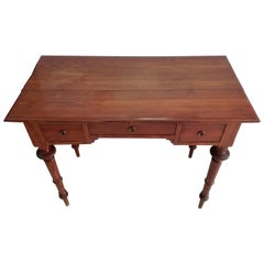 Quality Walnut and Rosewood Tree Style Desk