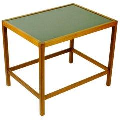 Scandinavian Modern Teak Side Table in the Style of Ejner Larsen