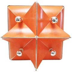 Large Space Age Wall Lamp by Jean Louis Rignault, circa 1970