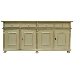 Vintage Pine Four-Door Sideboard
