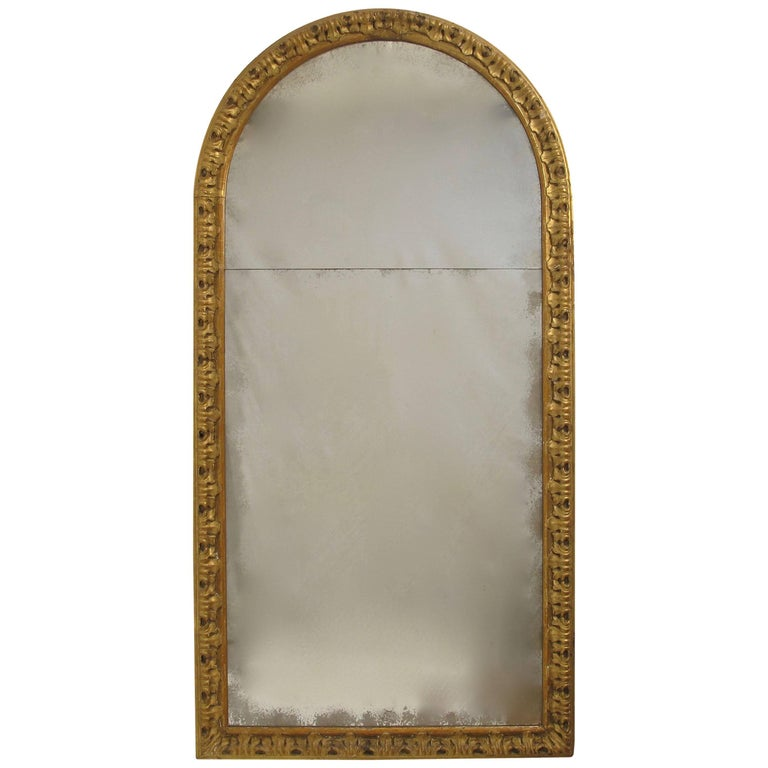 18th Century Carved and Gilt Mirror