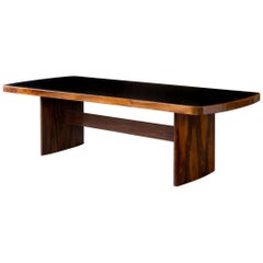 Dining Table in Jacaranda by Joaquim Tenreiro, 1949