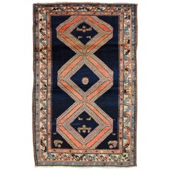 Early 20th Century Antique Persian Malayer Rug