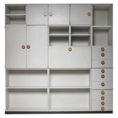 "Set of 15 ""Kubirolo"" Shelving System by Ettore Sottsass for Poltronova"