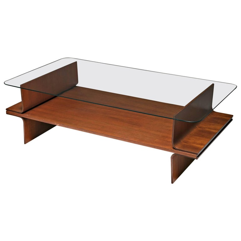 Plywood Coffee Table By Cassina For Sale At 1stdibs