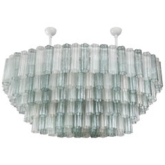 Oval Shaped Murano Glass Chandelier