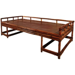 Chinese Bamboo Daybed
