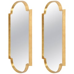 Mirrors, Pair of Gold Leaf