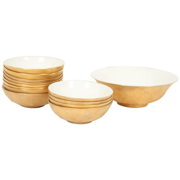 Rare Set of 13 Bowls by Sascha Brastoff