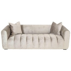 Stunning Channel Sofa by Steve Chase offered by Prime Gallery