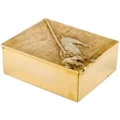 Line Vautrin Tout Ou Rien Box Gilded Bronze