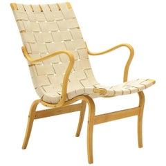Bruno Mathsson Eva Lounge Chair in Excellent Condition