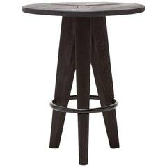 Ebonized Black Bar Table
