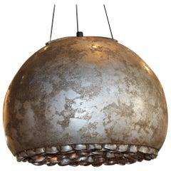 Artisanal Italian Organic Inspired Ceramic Hanging Light