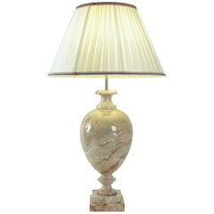 Marble Lamp from the 20th Century