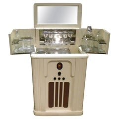 Philco Art Deco Complete Radio Bar