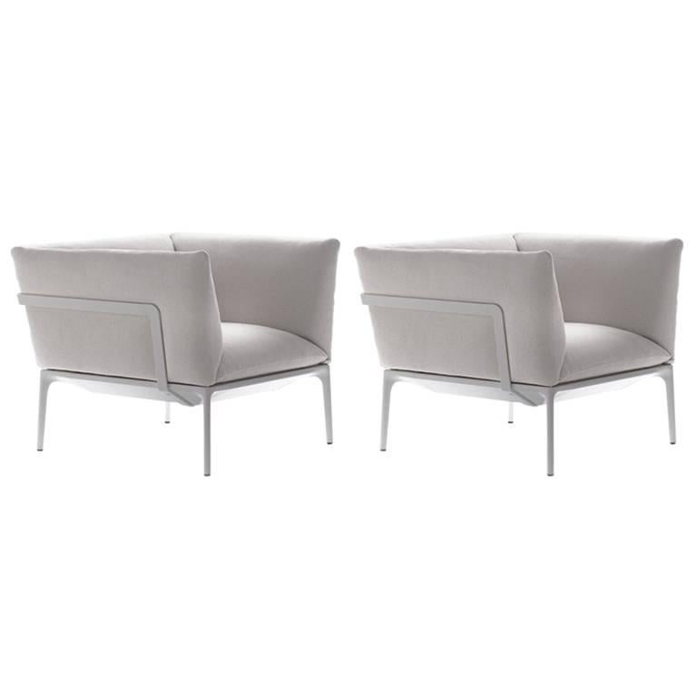 Yale Armchairs by Jean Marie Massaud