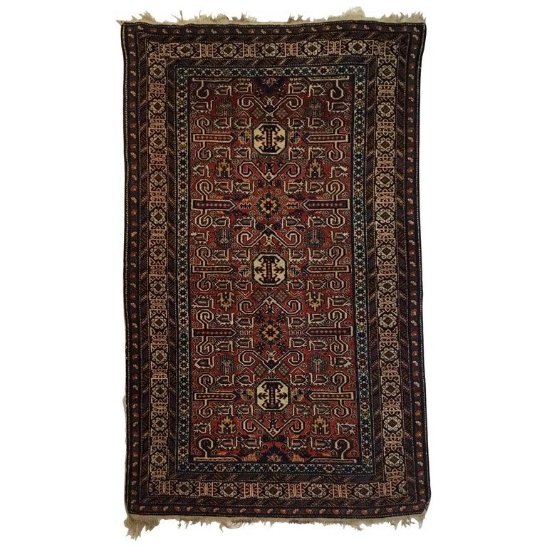 Fine Antique Caucasian Perepedil Rug For Sale At 1stdibs