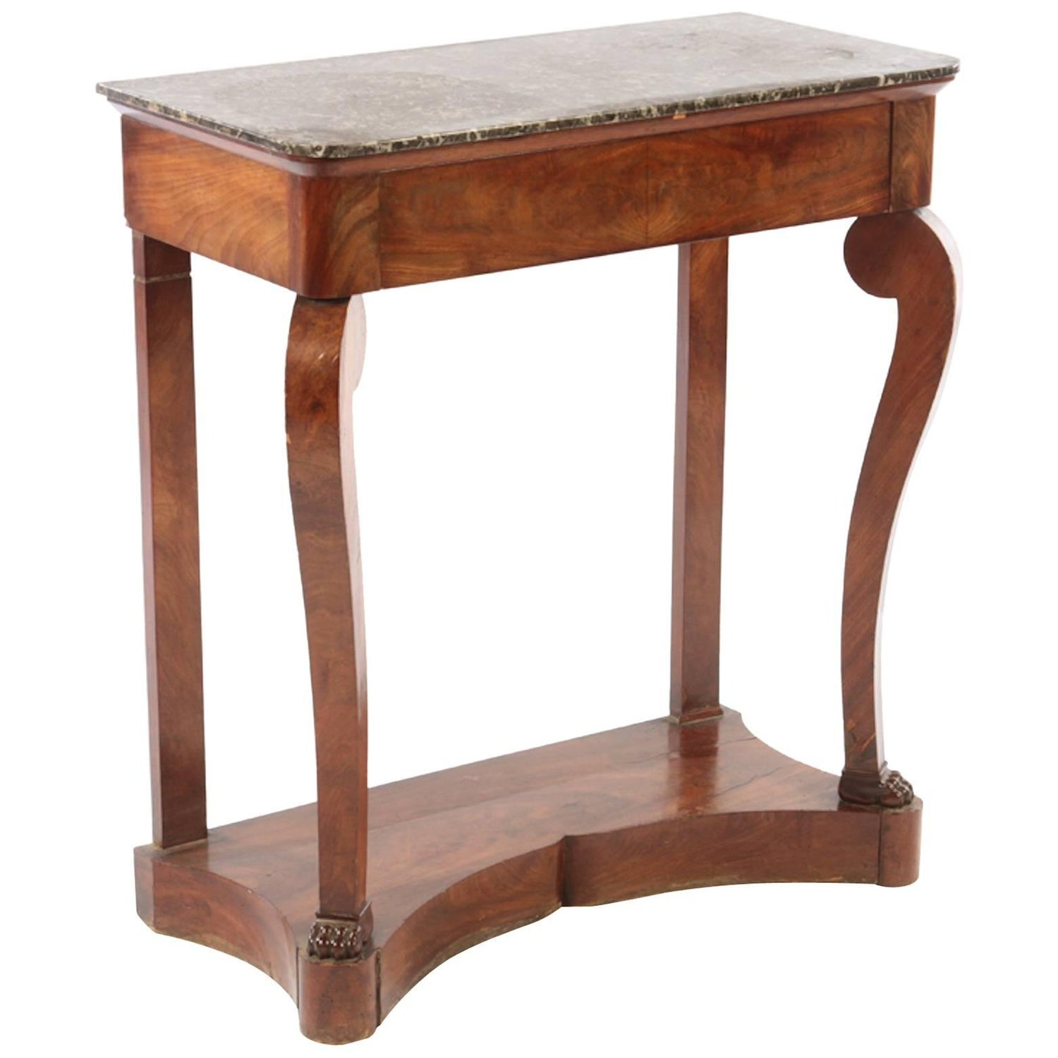Louis philippe console tables 19 for sale at 1stdibs french louis philippe console table geotapseo Images