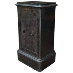 Iron Safe Cabinet by Bauche, circa 1910