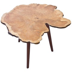 "1940s ""Naturbord"" Table Attributed to Sigvard Nilsson"