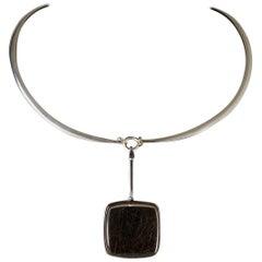 Necklace Designed by Torun Bülow-Hübe for Georg Jensen, Denmark, 1960s