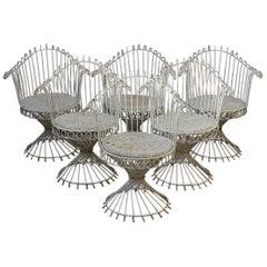 Set of Six 'Antheor' Chairs by Mathieu Mategot