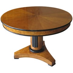 Biedermeier Table, Northern Germany/Denmark 1820-30