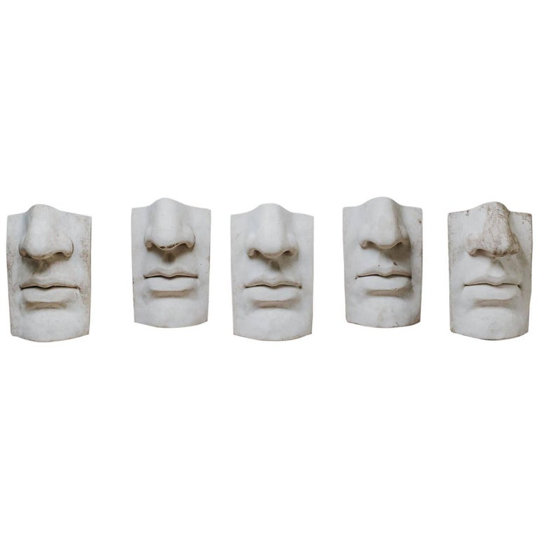 20th Century Plaster Figures For Sale