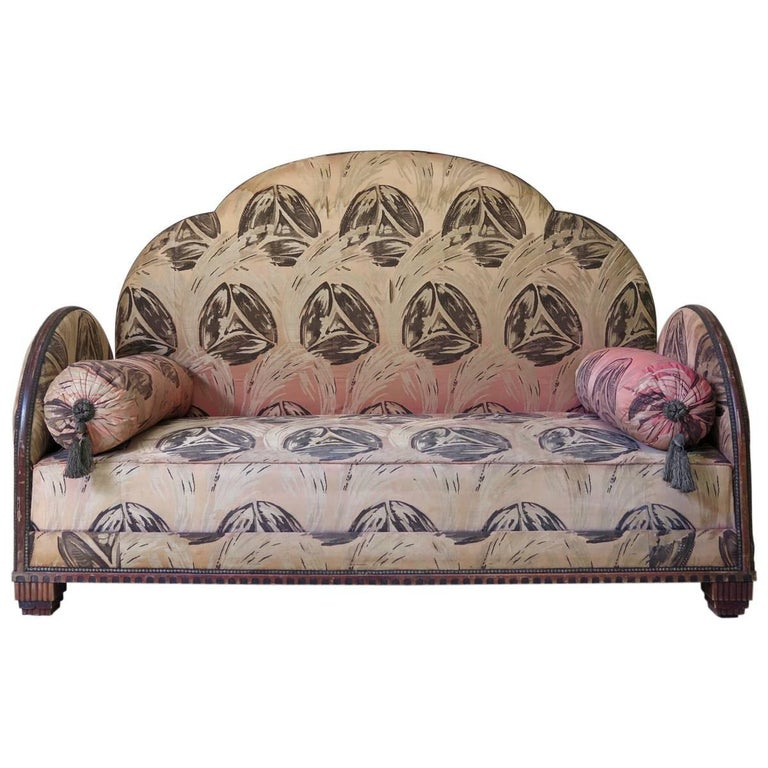 French Art Deco Settee