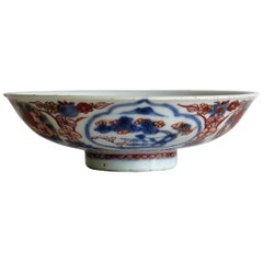 Late 17th Century Chinese Porcelain Bowl, Qing Kangxi Period Circa 1700