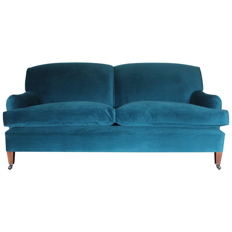 Teal Velvet Sofa Dark Teal Velvet Sofa Teal Blue