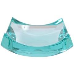 Fontana Arte Aquamarine Glass Dish