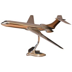 Vickers VC10 Aluminium Aircraft Model