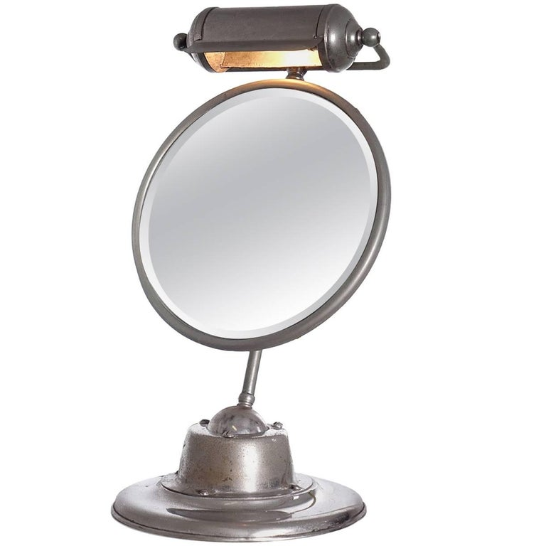 1920s Art Deco Shaving Mirror For Sale