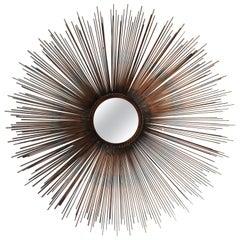 Sunburst Mirror Mid-Century Modern