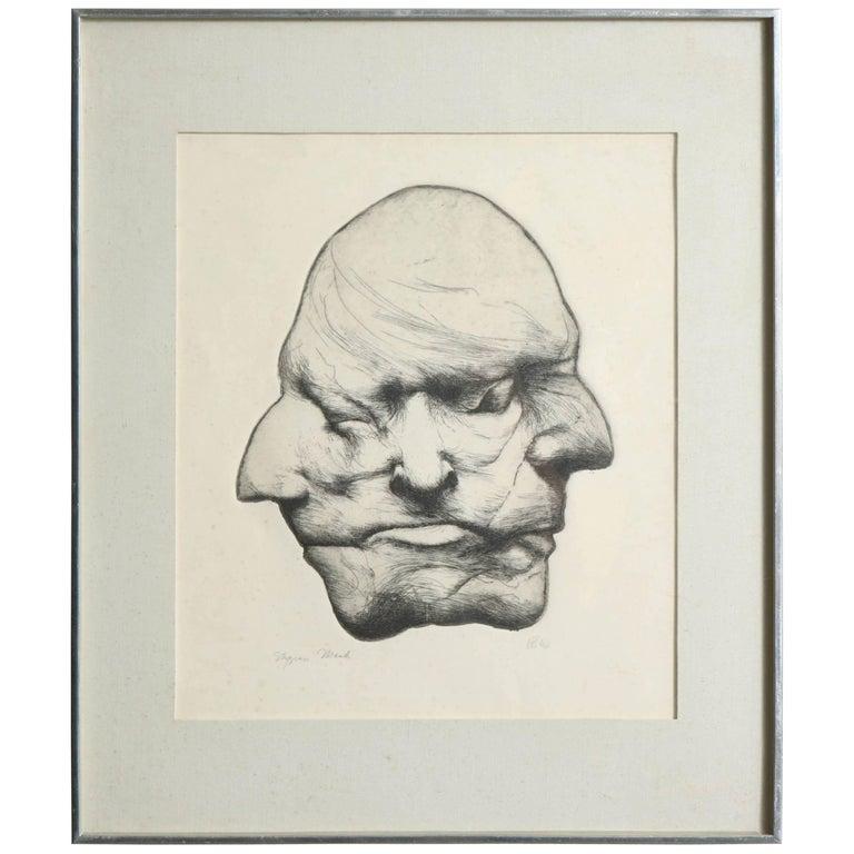"''Stygian Mask"" Anonymous, USA, 1960s"