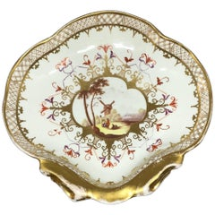 English Shell Form Sweet Meat Dish