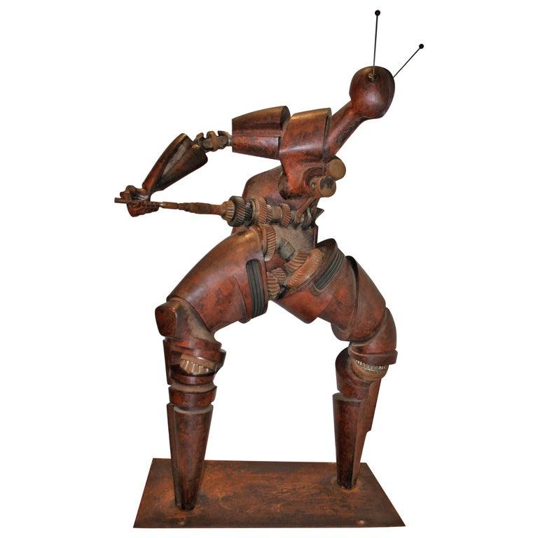Very Large Henri Lannoye Original Model of Sculpture 'Cybernetics', 1995