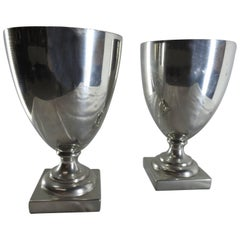 Williamsburg Shirley Pewter Pair of Goblets