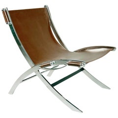 Antonio Citterio Leather Sling 'Timeless' Chair for Flexform Italy